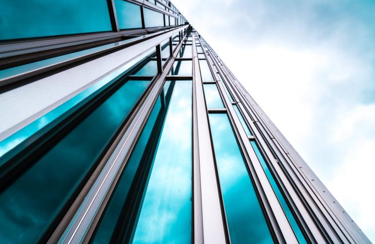 Architecture Details Modern Building Glass Facade