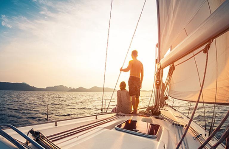 Market Volatility - sailing boat