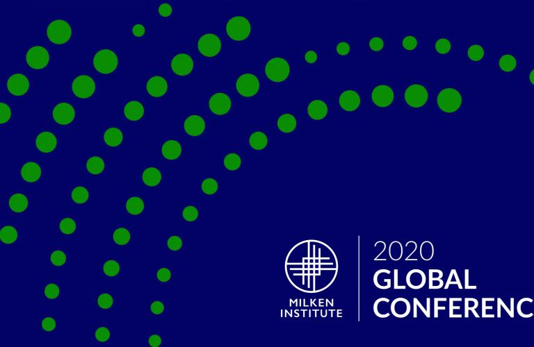 Milken 2020 Global Conference Image