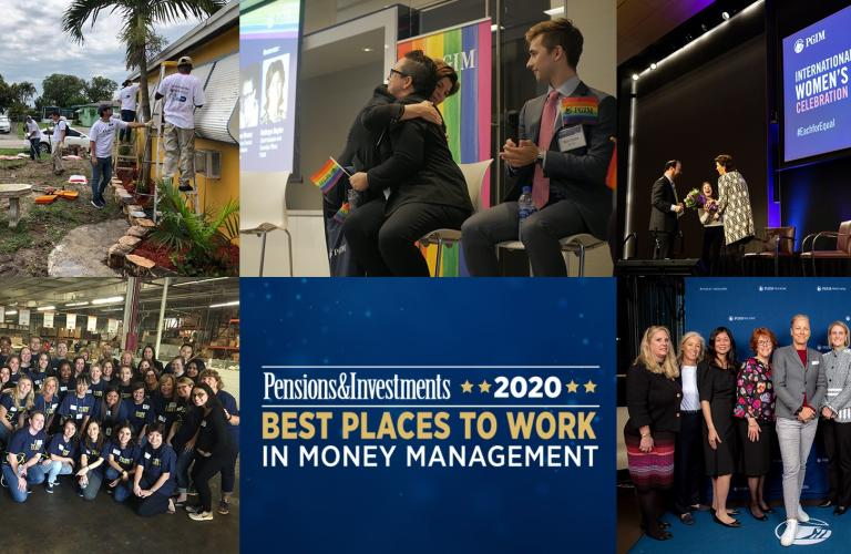 Pensions & Investments 2020 Best Places to Work in Money Management - PGIM