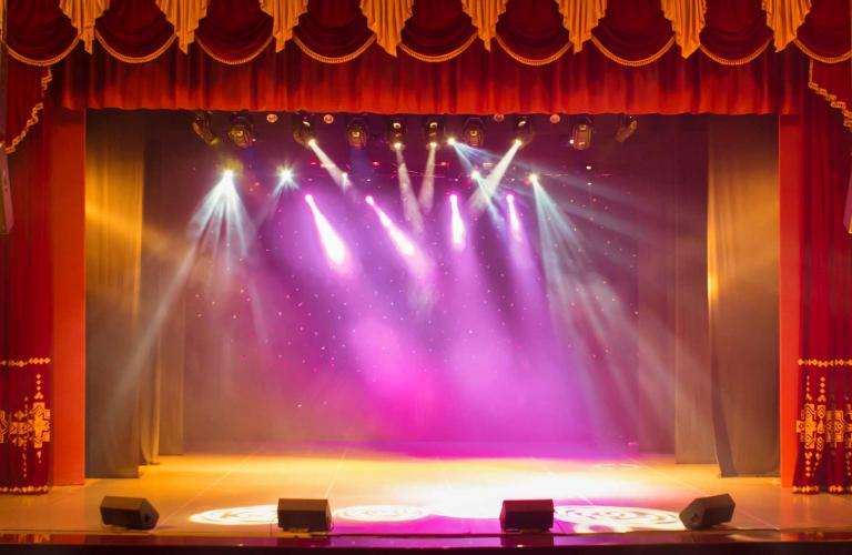 Broadway stage