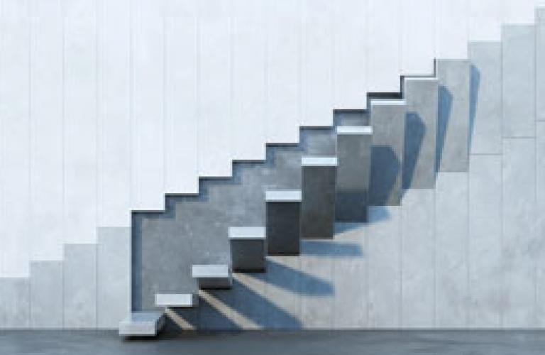 Stairs Perspective Image