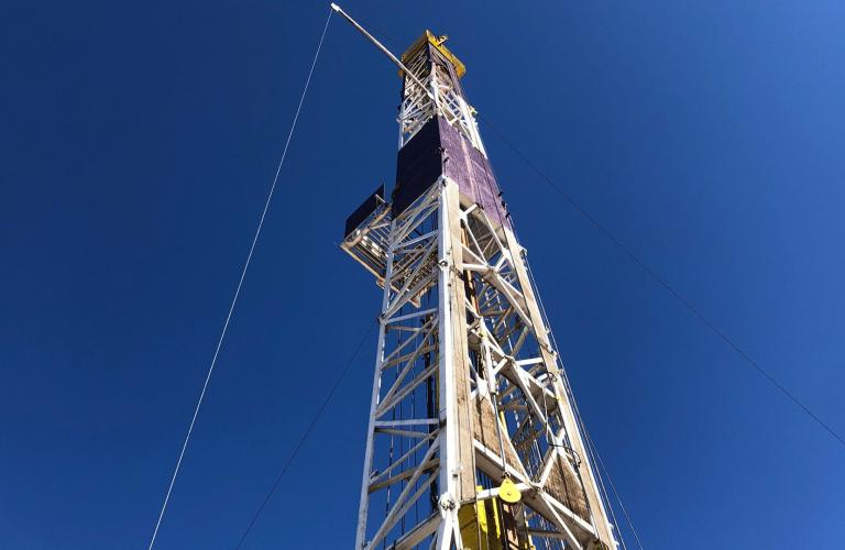 Photo of an oil drill