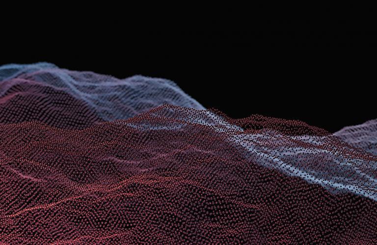 Waveform depicting patterns