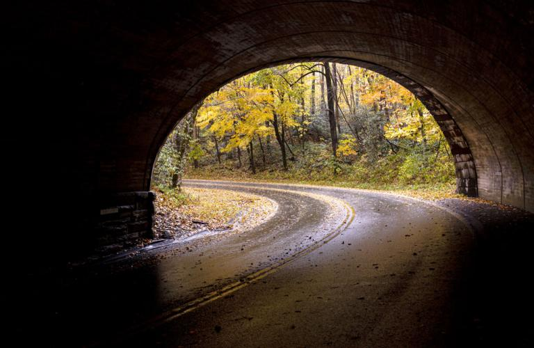 Tunnel vision depicting short term view