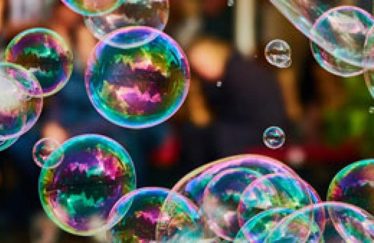 Soap Bubbles Image