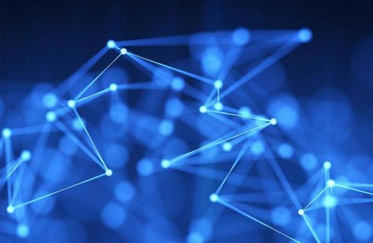 data abstract image
